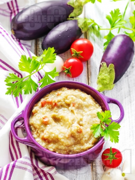 Патладжаново кьопоолу с майонеза и чесън - снимка на рецептата